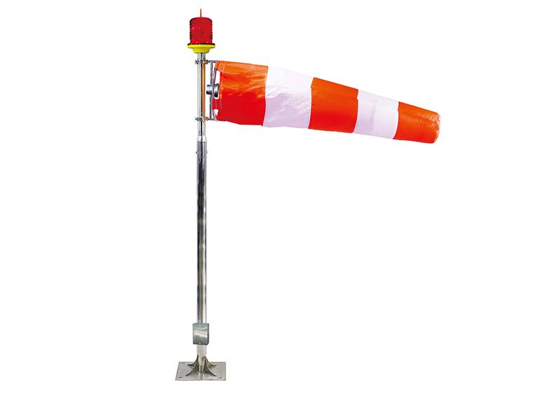 Heliport Windsock Light or Heliport wind vane