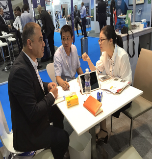 2rd Day:Many customers come and visited our booth