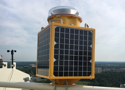 CK-15-T solar powered obstruction light on tower crane
