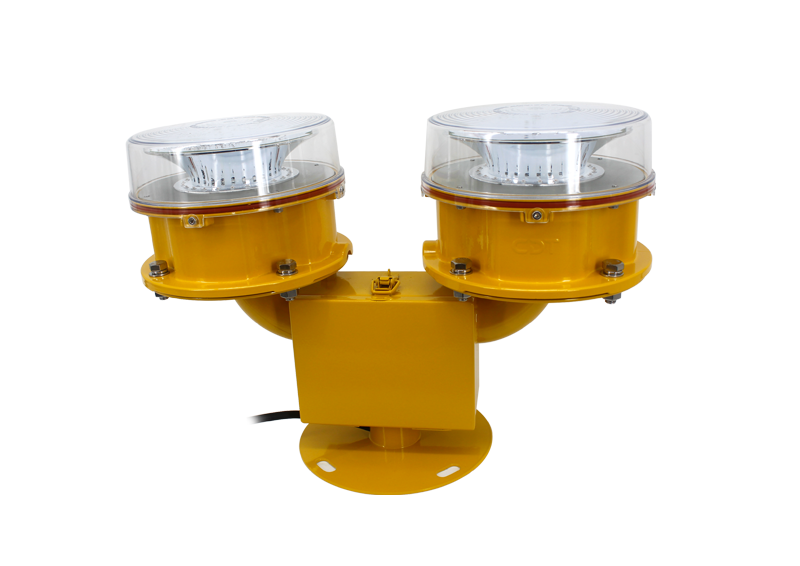 CK-16DD Dual Medium Intensity Aviation Obstruction Light Type B