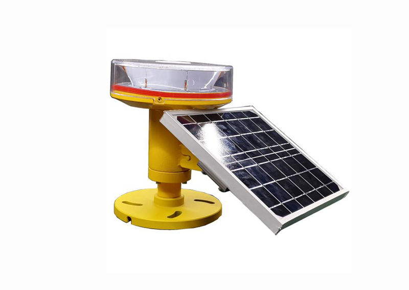 CM-11-TZ Type B Solar Power Lithium Battery Low intensity Obstruction light