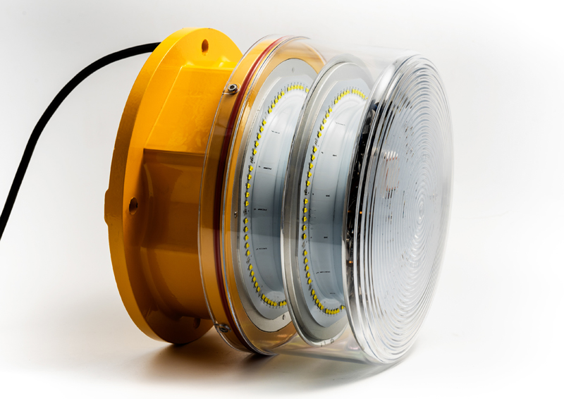 CM-15-A Medium Intensity White Obstruction Lights - ICAO Type A