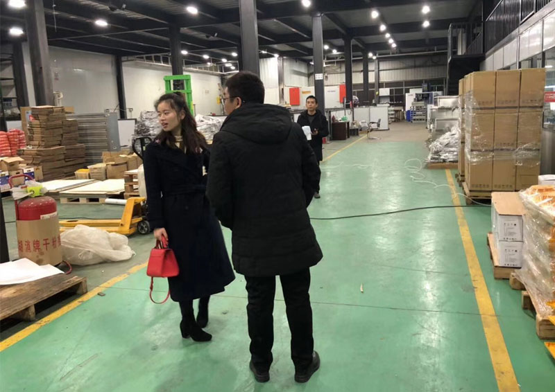 Welcome Korea Customers to visit our company