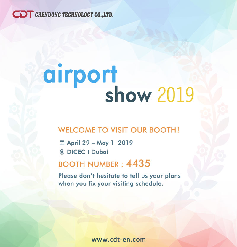 Waiting for you at 2019 Dubai Airportshow