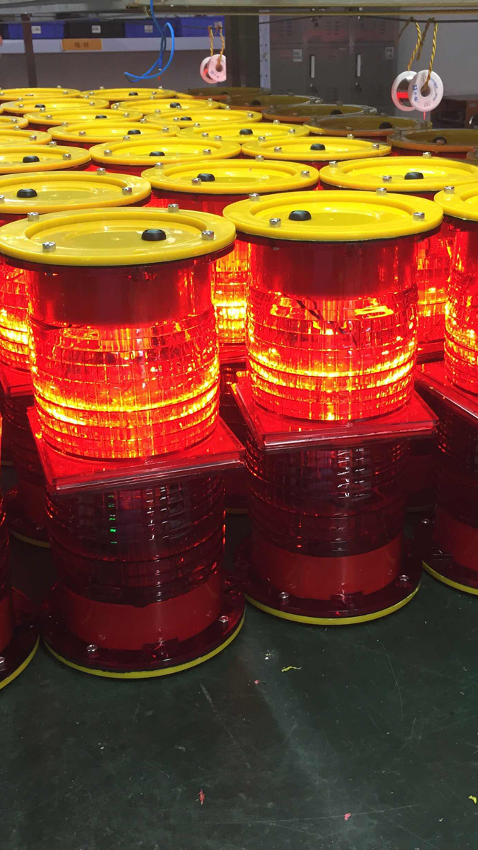 Solar Obstruction Light for Aman Airport